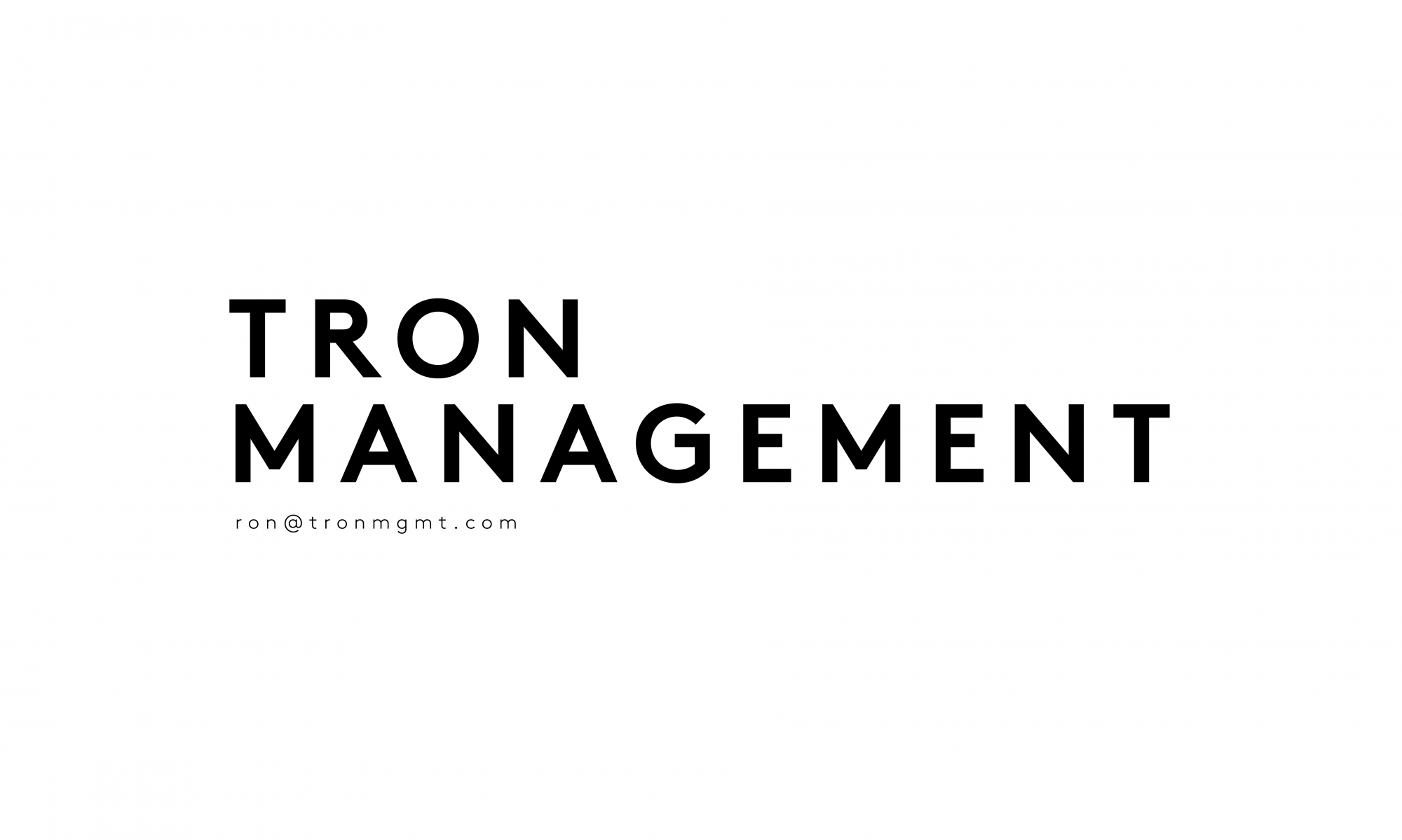 Tron Management